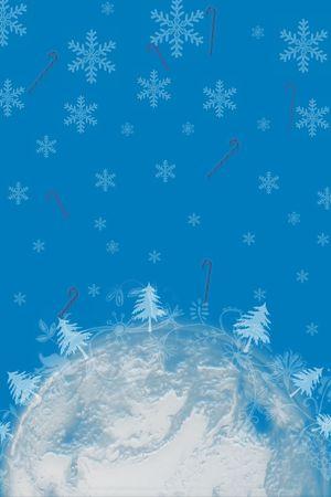 rond de wereld aan kerstmis tijd