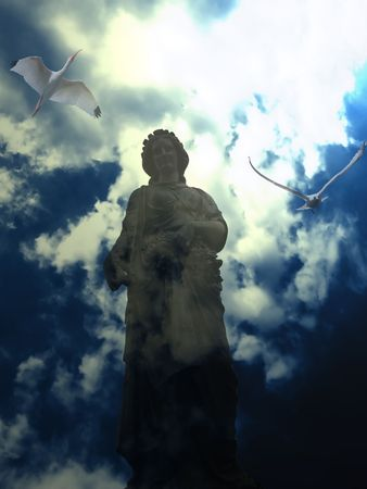 Conceptual photo: vision of faith. Stock Photo - 3312762