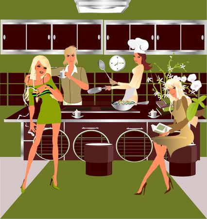 Parte cocina