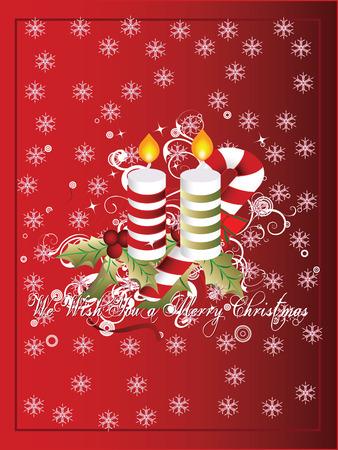 A vector of a christmas greeting card Stock Vector - 3916837