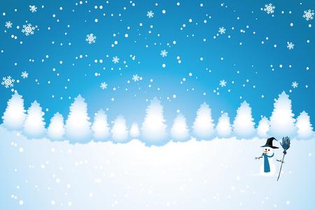 Snowy Bos