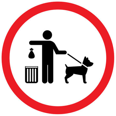 Clean after your dog sign.