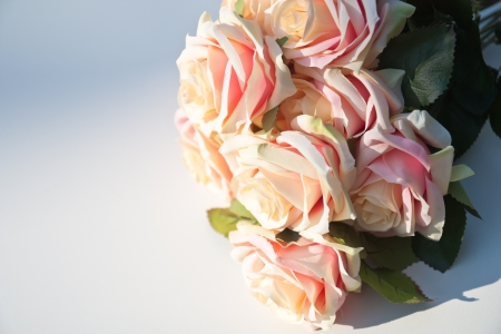 especially: Concept of love to show by pink-rose bouquet for someone that especially for you