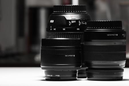 Image of many digital zoom lens for digital single lens reflex camera