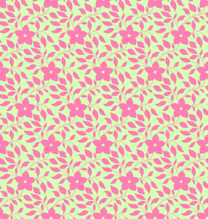 Seamless pattern in traditional vintage asian, chinese style. Floral seamless pattern in pastel colors. Natural spring background.