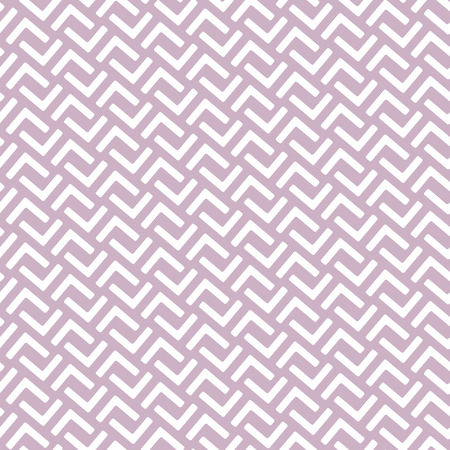 dusty: Geometric seamless pattern in east asian style. Lattice, Puzzle, labyrinth style traditional seamless pattern. Dusty rose, lavender violet color of background. Illustration