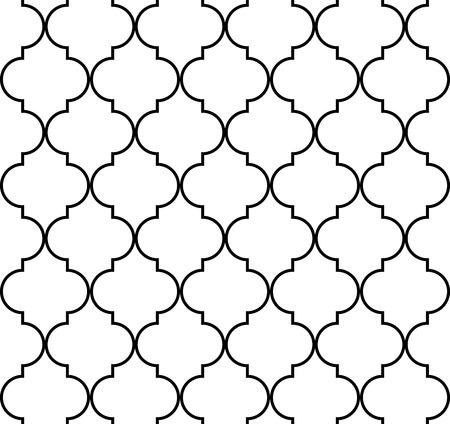 quatrefoil: Quatrefoil geometric seamless pattern background