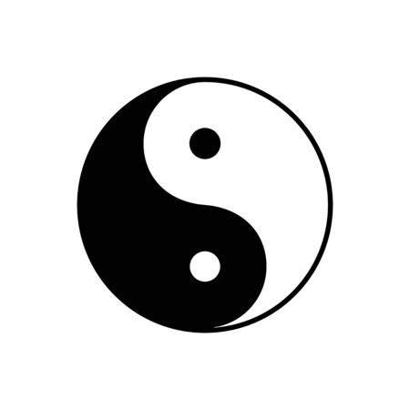 Yin Yang symbol of dualism in ancient Chinese philosophy