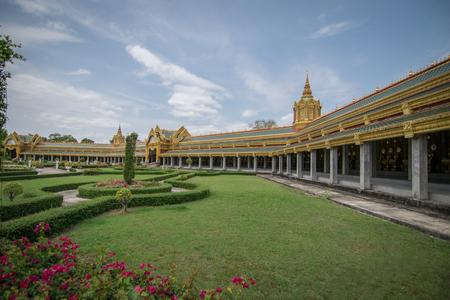 pagoda in Roi Et.thai.thailand.pagoda thailand