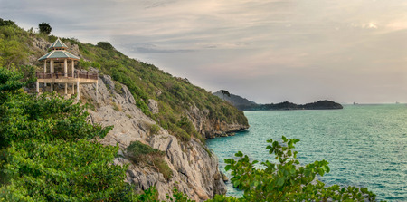 Si Chang Island in the evening.thailand, si chang island, Koh si chang