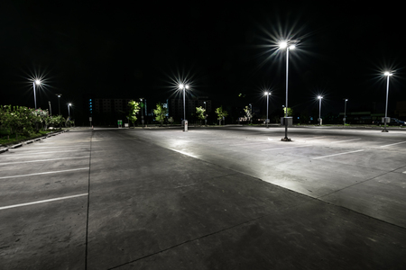 Parking at night