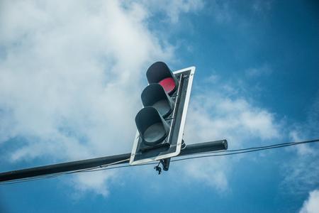 Verkeerslichten Stockfoto