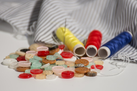 Sewing Equipment,Colorful buttons