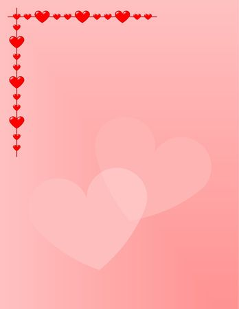 Background for stationery (letter size). Suitable for teenage girls and Valentines Day.
