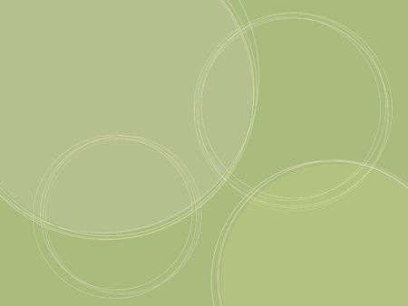 Green background with circles. Image proportions suitable for presentations and other screen applications. It can also be used as a card, with images in the circles and text in the upper left or bottom right. Stock Photo