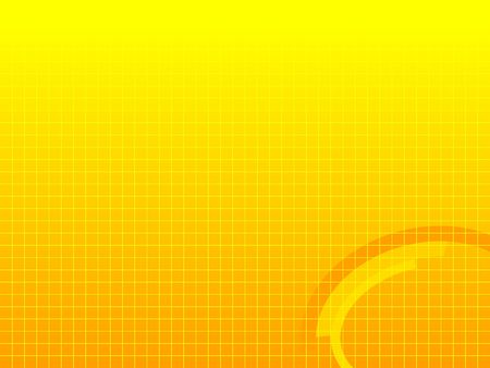 Sfondo giallo con crosshatched linee e decorazione geometrica. Proporzioni immagine adatto per le presentazioni e altre applicazioni schermo.