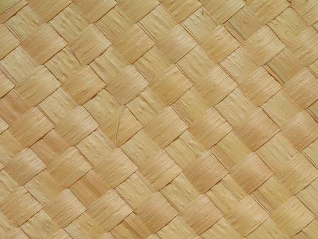 Vista del primo piano di una stuoia della paglia fatta dalla copernicia cerifera. Lalbero della carnauba (prunifera di Copernicia) � endemico nel Brasile di nordest ed � conosciuto As Archivio Fotografico