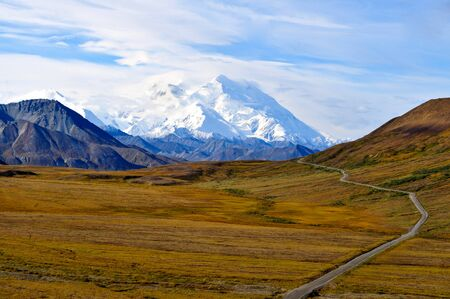 The Road to Denali in Glorious Fall