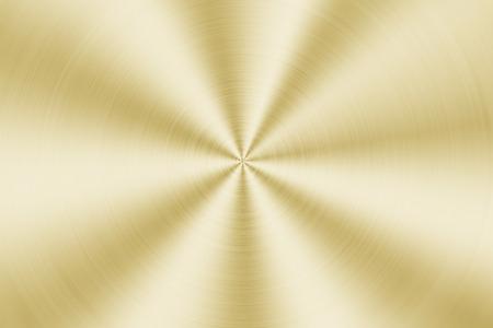 gold metal: Gold Brushed metal background