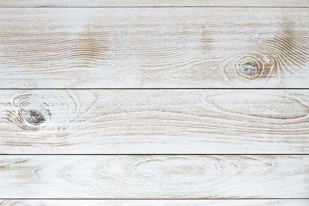 White vintage wood texture background Banco de Imagens