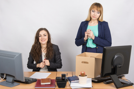 enmity: The dismissal of colleagues is joy in the office employee