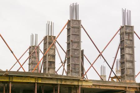 Remplissez le cadre monolithiques bâtiments en béton armé