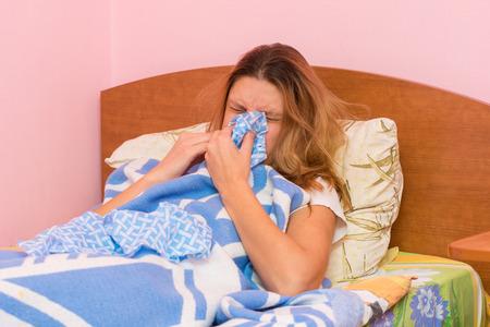 synonym: She sneezes ill with acute respiratory illness