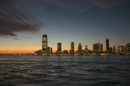 壮大な市街の景色 写真素材