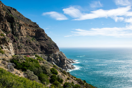 To Infinity and Beyond - Pristine Atlantic Ocean on the side of Chapmans Peak Drive near Cape Point, South Africa