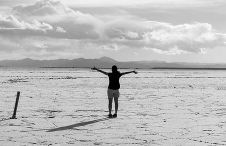 Delight of Endless Salt Flats in Argentina