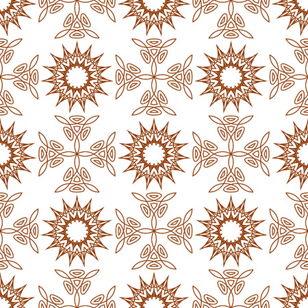 fifteen: Seamless of fifteen angle stars and weaving crosses. pattern of geometric crosses of triangles and star