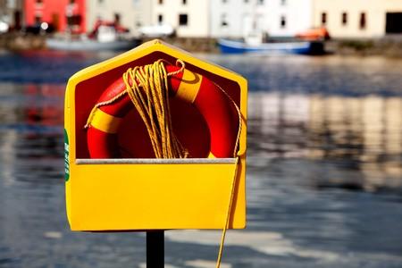 Leben Ring neben Corrib Fluss Galway Irland