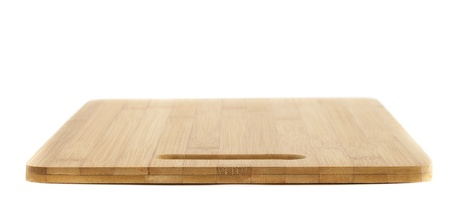 New Clean Chopping Board on White Isolated Background