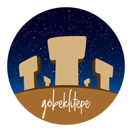 Göbeklitepe Turkish for Potbelly Hill is an archaeological site in the Southeastern Anatolia Region of Turkey approximately 12 km 7 mi northeast of the city of Şanlıurfa. Illustration
