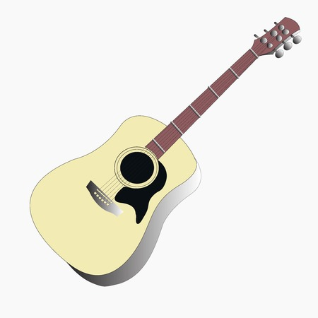 Isolated guitar