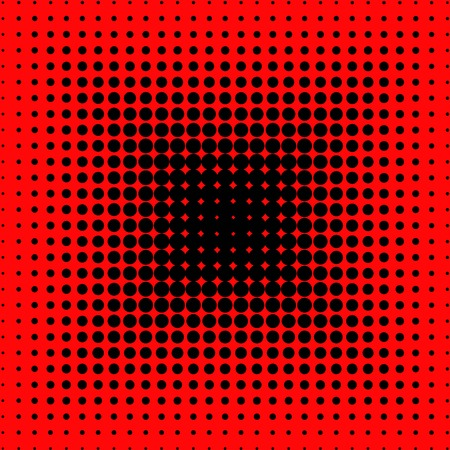 red and black dotted background