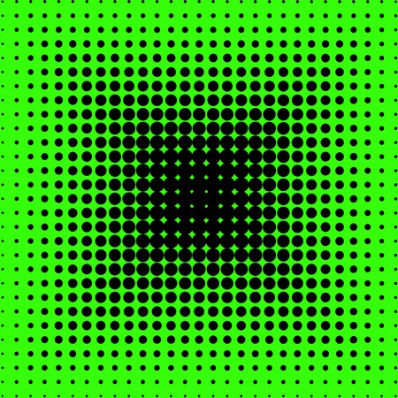 green and black dotted background