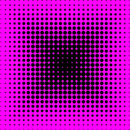 Pink and black dotted background