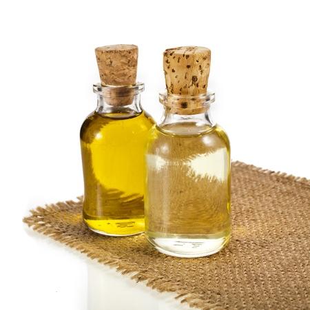 oilcan: bottle oil isolated on white background