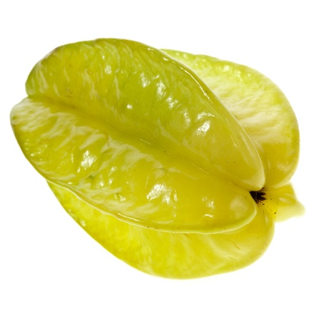 carambola: carambola fruit isolated on a white background