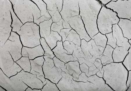 surface cracked clay ground background Stock Photo - 20703623