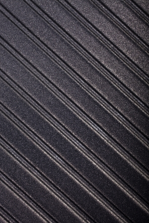 griddle: corrugated surface metal texture Stock Photo
