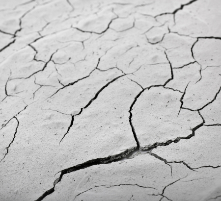 surface cracked clay ground background Stock Photo - 20932122