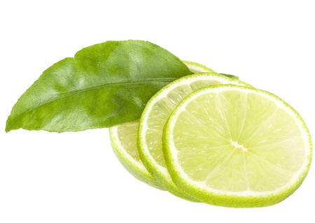 healthy green lime fruit photo