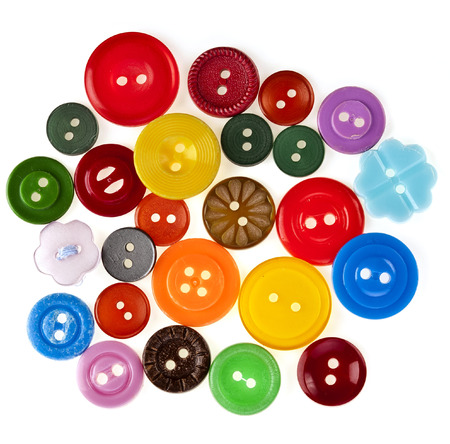 modiste: many colored buttons background