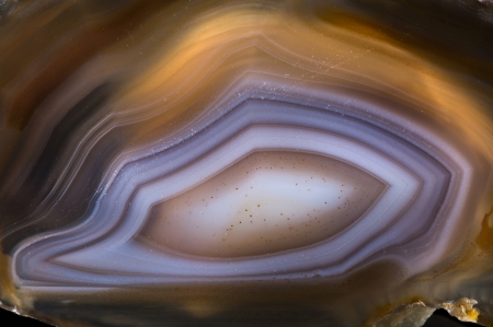 agate crystal with concentric layers surface background photo