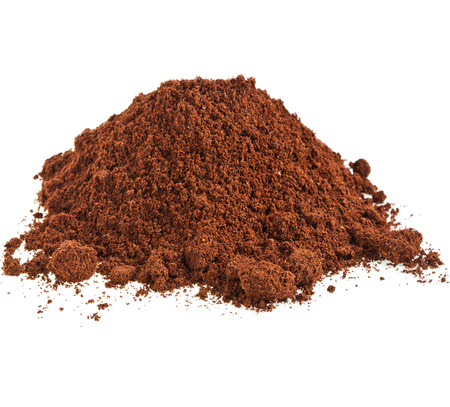 calorie rich food: cocoa powder isolated