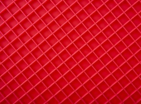 silicio: Placemat rojo, textura de la superficie vista superior diagonal