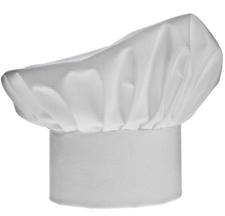 Alto sombrero del cocinero aislados en fondo blanco Foto de archivo - 30089081
