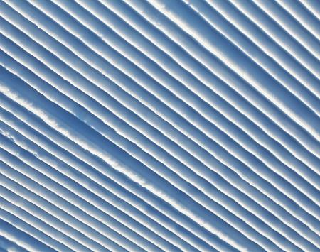 Snow corrugated texture